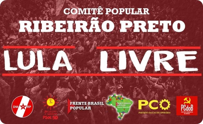 Plenária Lula Livre | Ribeirão Preto SP