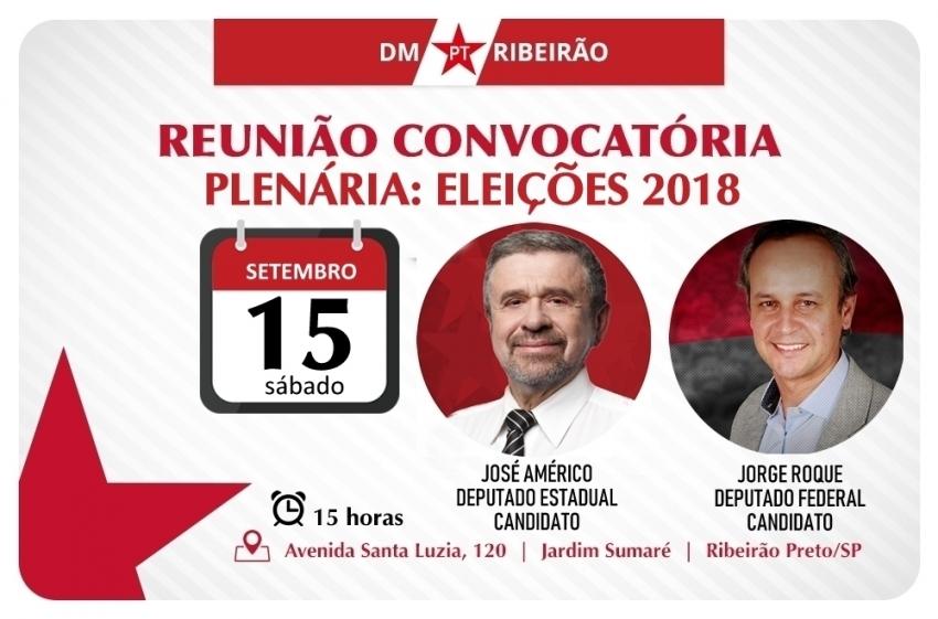 Plenária: Eleições 2018