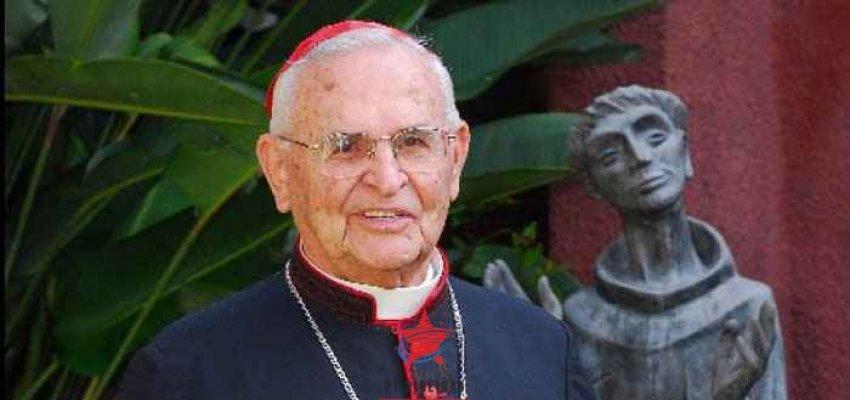Ricardo Jimenez: Morre um franciscano amigo do povo brasileiro.