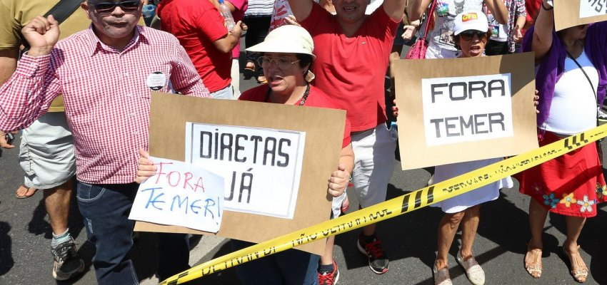 Rui Falcão: Pela antecipação das eleições presidenciais