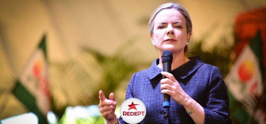 Gleisi Hoffmann: Políticas neoliberais levam Brasil ao colapso