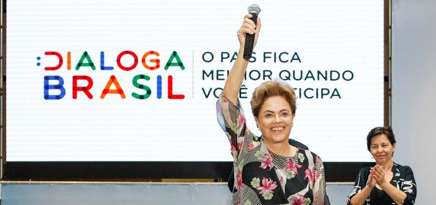 Dilma, nada nos segura pra seguir em frente