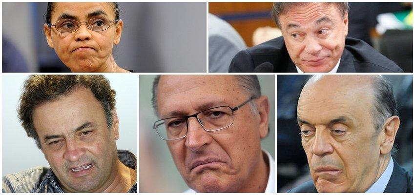 Implosão do PSDB espalha a direita por partidos históricos e isola a esquerda!