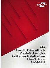 Ata Reunião Extraordinária CEM-PT 21-06-2016