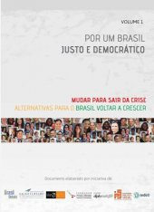 Por um Brasil justo e democrático - volume 1