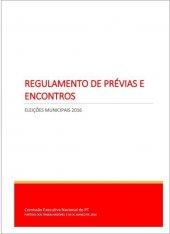 Regulamento de Prévias e Encontros Eleições Municipais 2016 3mar2016