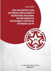 Cartilha Resoluções Encontros Setoriais - Abril 2012