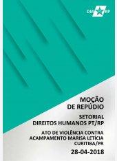 Moção de Repúdio | Ato de Violência Contra Acampamento em Curitiba