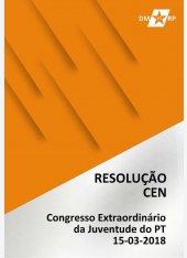 Resolução CEN - Congresso Extraordinário da Juventude do PT