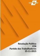 Resolução Política - 25 de junho de 2015 - Comissão Executiva Nacional