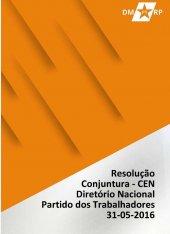 Resolução sobre Conjuntura - CEN 31-05-2016