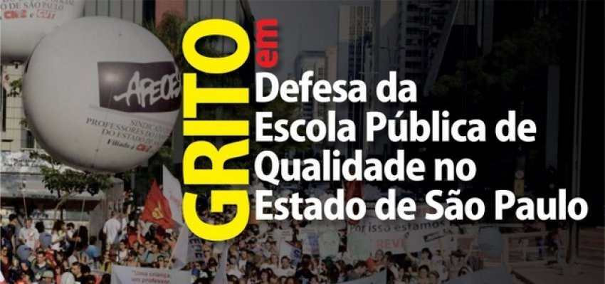 Paulistas voltam às ruas dia 29 contra fechamento de escolas