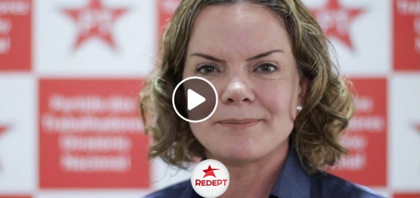 Gleisi Hoffmann convoca militância para as eleições setoriais