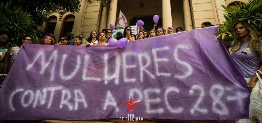 Dia Internacional da Mulher: Nem uma a menos!