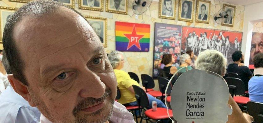 Fernando Kaxassa Recebe O Primeiro Troféu Newton Mendes Garcia