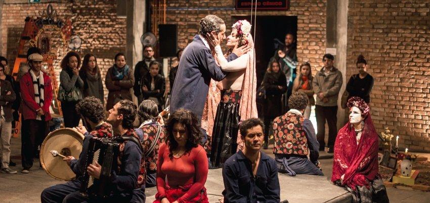 Cia. do Tijolo apresenta peça no Memorial da Classe Operária/UGT