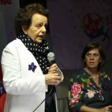 Eleonora Menicucci diz que a presidenta Dilma está firme, determinada e do lado que sempre esteve