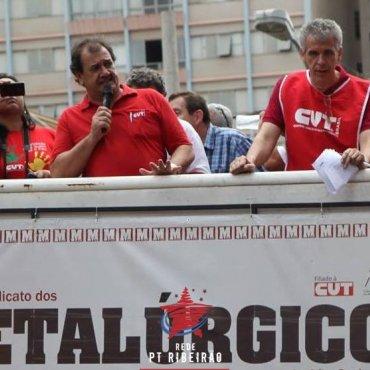 Movimentos sindical, sociais e políticos manifestam pesar com a morte do vice-presidente da CUT-SP, Sebastião Cardozo