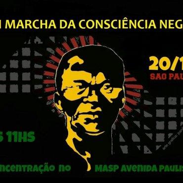 20 de novembro: Marcha da Consciência Negra por nenhum direito a menos