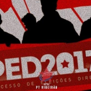 PED 2017: 62,7 mil filiados se inscrevem para direção do PT