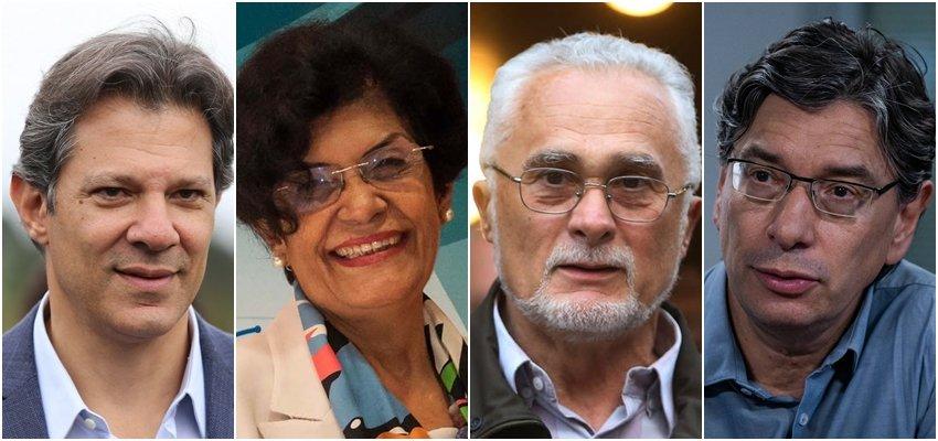 Haddad, Chauí, Genoíno e Pochmann confirmados no Curso de Difusão