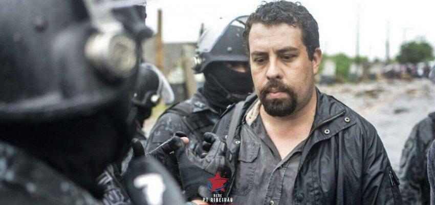 Setorial Direitos Humanos do PT de Ribeirão Preto repudia a prisão arbitrária do companheiro Guilherme Boulos