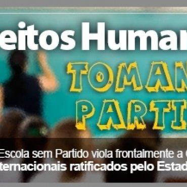 O programa Escola sem Partido viola frontalmente a Constituição e os tratados internacionais ratificados pelo Estado brasileiro