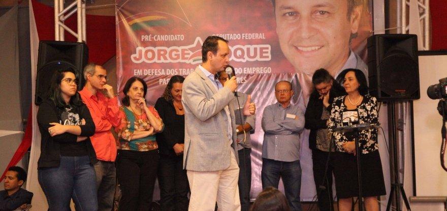 Diversas lideranças confirmam apoio à pré-candidatura de Jorge Roque a deputado federal
