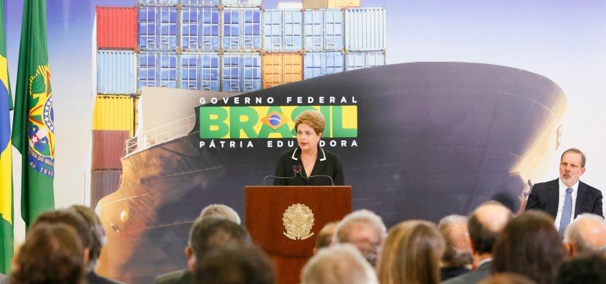 Dilma anuncia o Plano Nacional de Exportações