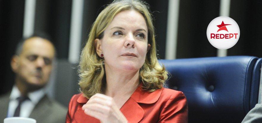 Senadora Gleisi Hoffmann declara apoio à pré-candidatura de Jorge Roque