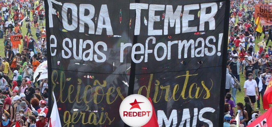 No 30 de junho, Greve Geral vai parar o Brasil contra os desmontes