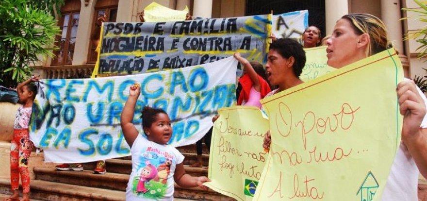 Reintegração de posse da Favela União é suspensa por 90 dias