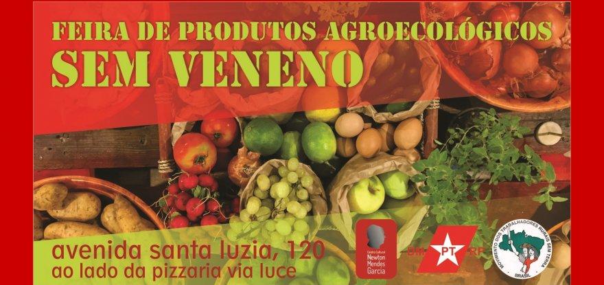 Centro Cultural Newton Mendes Garcia e MST Inauguram Feira de Produtos Agroecológicos