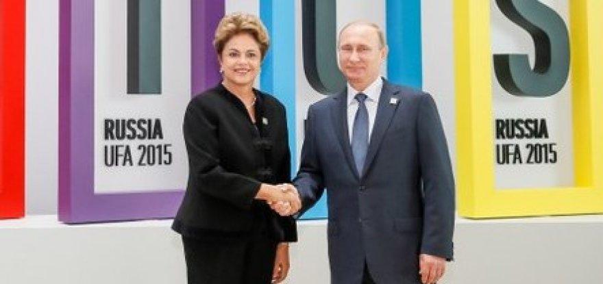 Dilma ressalta a importância dos Brics para o desenvolvimento mundial