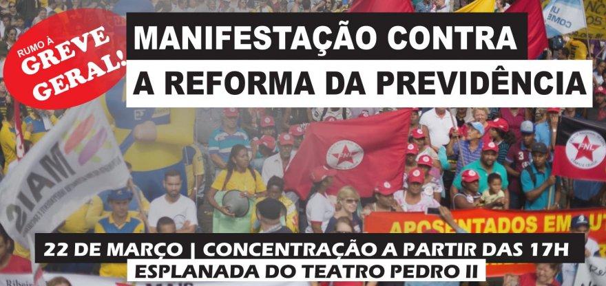 Ribeirão Preto rumo à greve geral: 22 de março é dia de luta