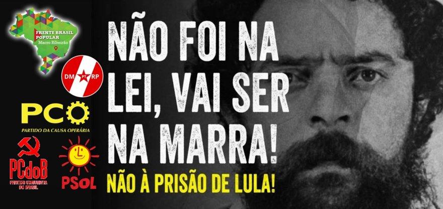 Agenda de mobilizações pelo Brasil em defesa de #LulaLivre