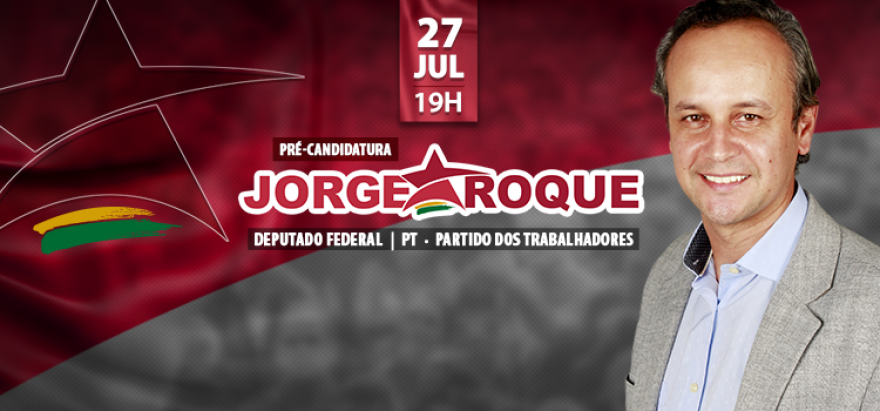 Lançamento da pré-candidatura do Jorge Roque em Ribeirão Preto