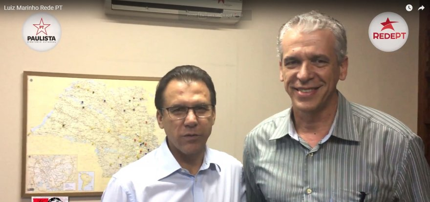 Luiz Marinho manda uma palavra de esperança para a militância