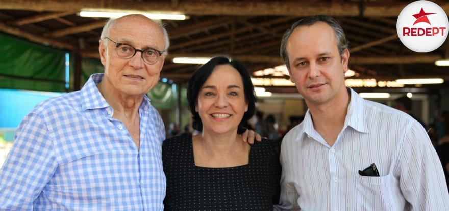 Pré-candidatura de Jorge Roque é lançada com participação de Márcia Lia e Suplicy