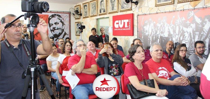 Pré-candidatura de Lula é lançada em Ribeirão Preto