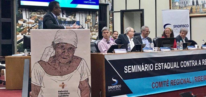 Seminário Estadual Contra a Reforma da Previdência aprova Carta de Ribeirão Preto