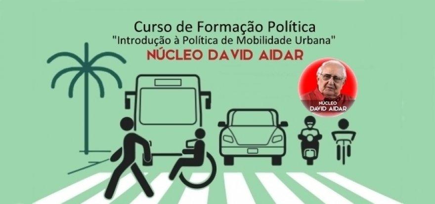 Curso de Introdução à Política de Mobilidade Urbana no Núcleo David Aidar