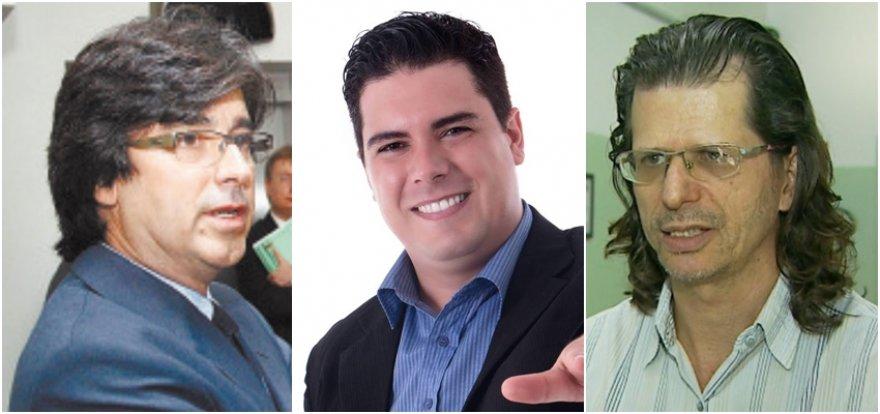 Antônio Alberto Machado, Fábio Sardinha e Ulysses Strogoff disputarão as prévias no próximo dia 16 (domingo)