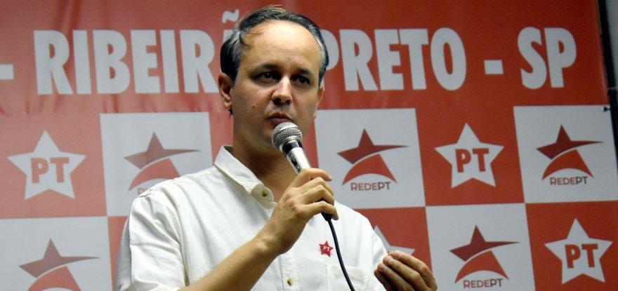 Jorge Roque toma posse como presidente do PT Ribeirão Preto