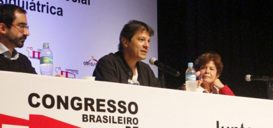 Programa De Braços Abertos é tema de debate no V Congresso Brasileiro de Saúde Mental