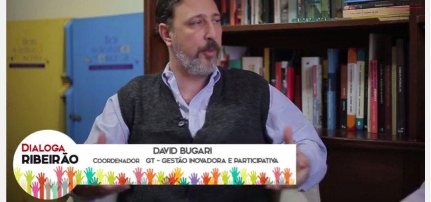Administração precisa dialogar com a população, diz David Bulgari