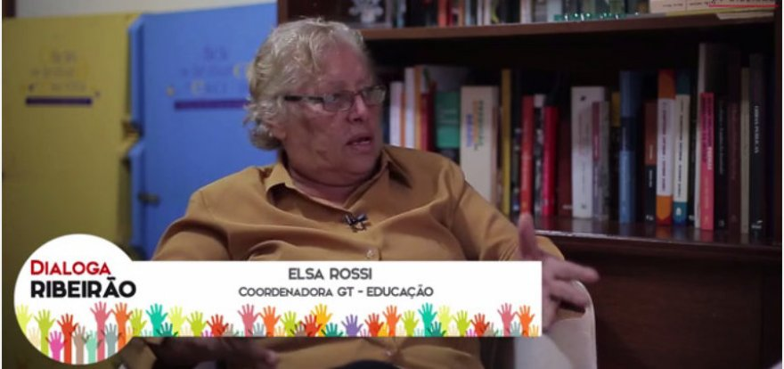 Educação deve ser integralizada entre escola e comunidade, diz Elsa Rossi
