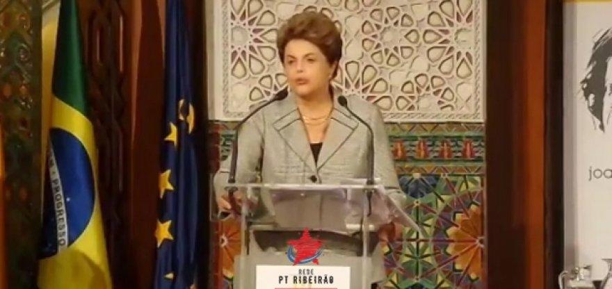Dilma: Brasil precisa da democracia para lutar contra desigualdade