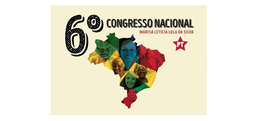 Acompanhe ao vivo as notícias do 6º Congresso Nacional do PT