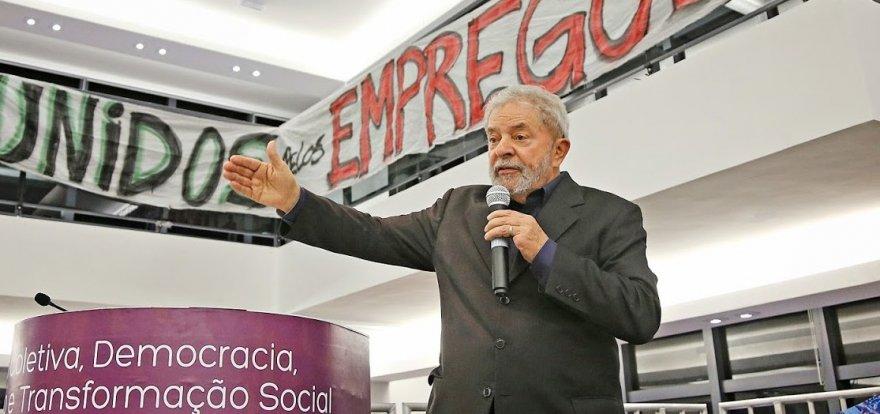 Lula entra com queixa-crime contra Ronaldo Caiado no STF